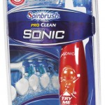 Spinbrush Pro Clean Sonic Toothbrush Review & Giveaway- CLOSED