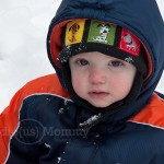 Aiden's First Snow Play
