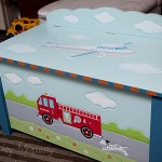 Guidecraft Transportation Table and Chairs and Toybox