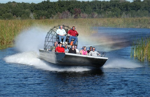 A Chilly Morning Ride – Boggy Creek Airboat Rides