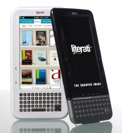 Sharper Image Literati E-Reader Review
