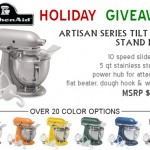 KitchenAid Artisan Stand Mixer Giveaway at 3 Kids And Us!