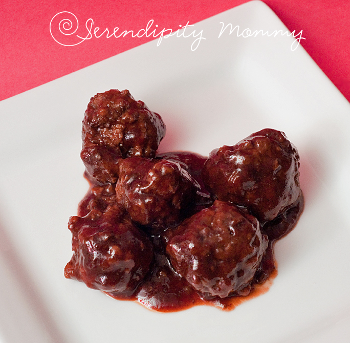 Super Simple Home Made Crockpot BBQ Meatballs