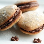 Banana Whoopie Pies with Nutella Frosting