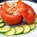 Stuffed Tomatoes Chinoise