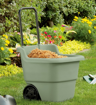All Purpose Lawn Cart from Plow and Hearth