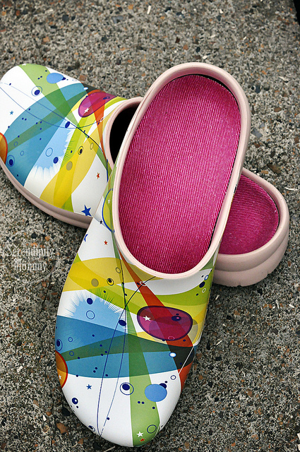 As You Can See They Have Incredible Crazy Color In Them The Insoles Are Removable Well So That Spray Off If Get Too Messy