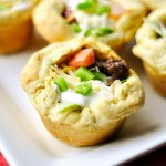 Kid Friendly Biscuit Taco Cups