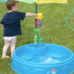 Step 2 Grill & Play Patio Cafe Review and Play and Shade Pool Giveaway