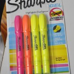 It's All In The Details – Sharpie Gel Highlighter Review