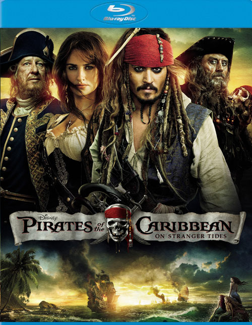Pirates of the Caribbean: On Stranger Tides Blu-ray DVD Combo Giveaway