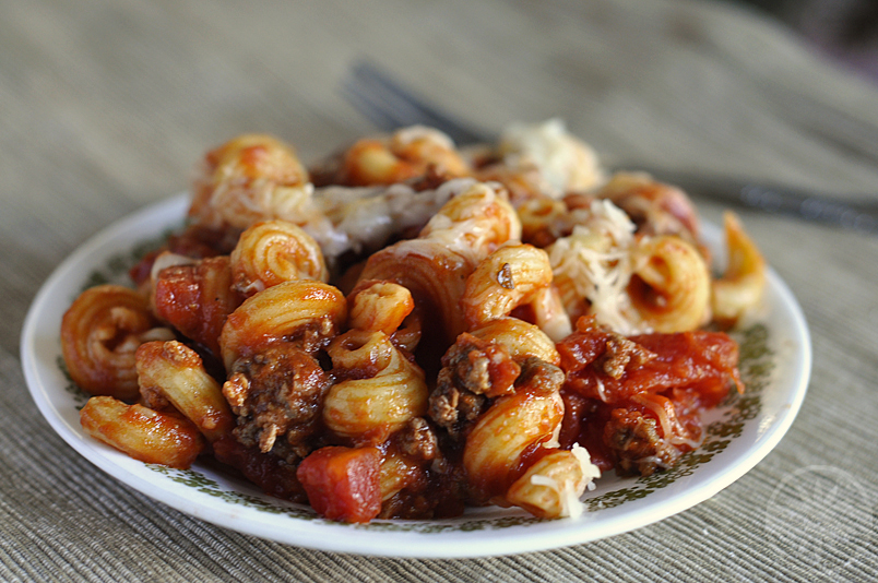 Cavatappi in Marinara