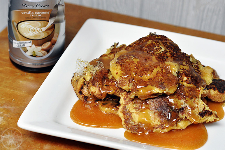 Vanilla Caramel Creme French Toast feat. International Delights Creamer