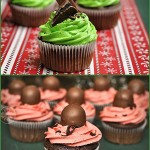 Holiday Inspiration – Andes Mint and Chocolate Covered Cherry Cupcakes