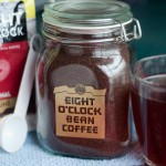 Eight O'Clock Is A Great Time For Coffee! {Win A Vintage Coffee Jar!}