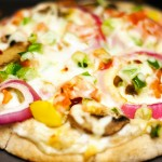 Vegetarian Pita Pizza with Calphalon XL Digital Convection Oven
