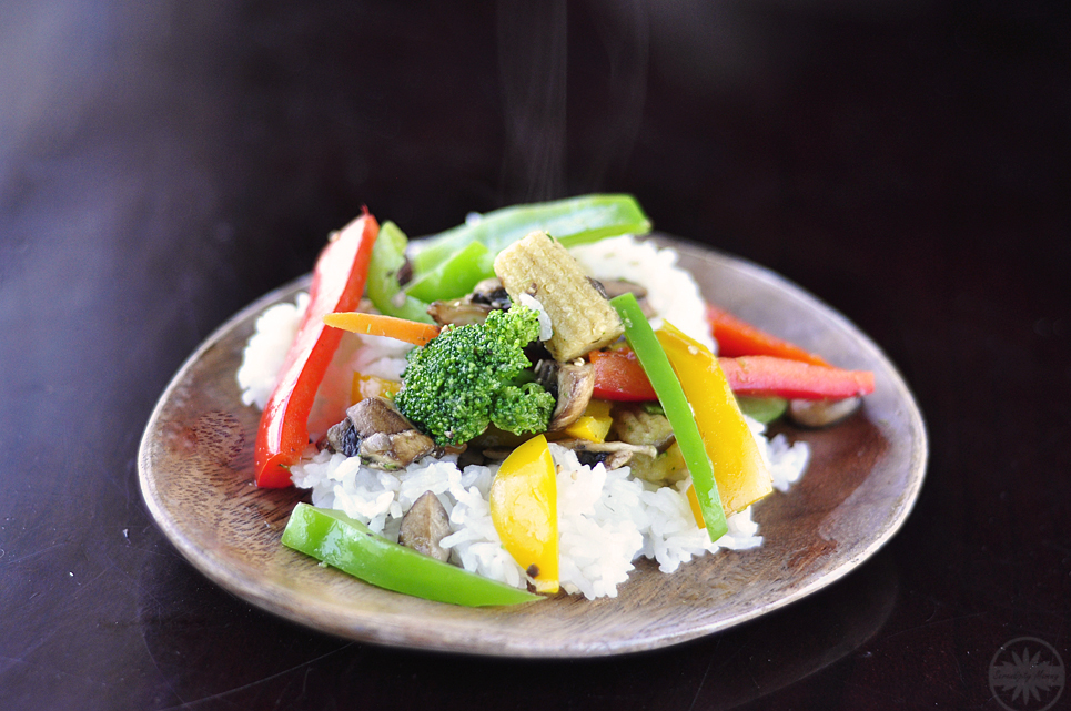 Vegan Sesame Stir Fry with Bialetti Aeturnum Cookware
