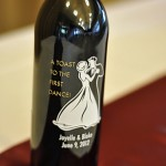 Engraving Beautiful Memories – Etching Expressions Personalized Wine Bottle {Giveaway!}