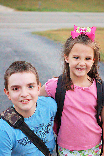 Blog Hop: First Day Of School