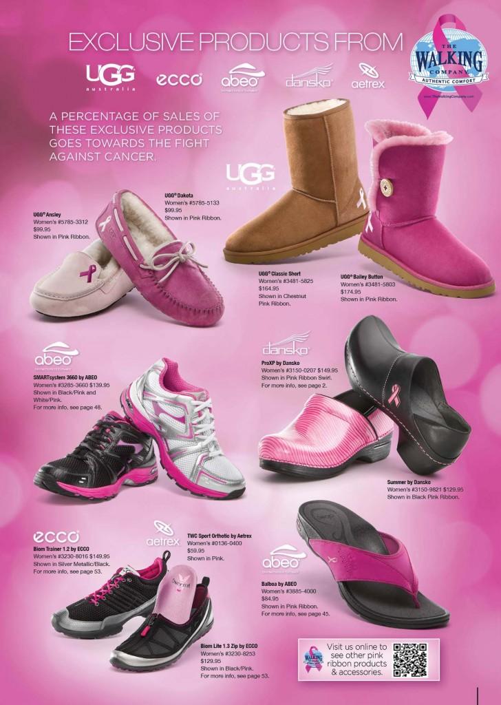 ugg pink ribbon collection
