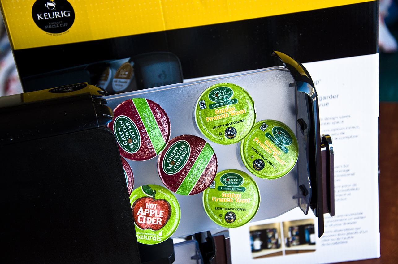 Organizing with Keurig Countertop K-Cup Storage {Giveaway} #YourPerfectCup