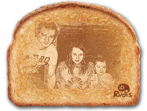 Rudi's Organic Bakery Toast-A-Gram Giveaway
