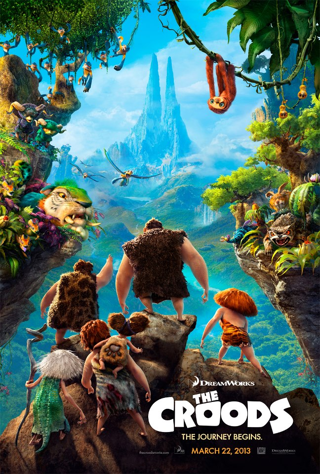 Food for The Croods – Coming To Theaters March 22nd