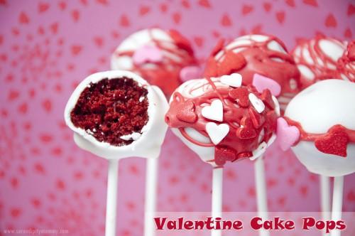 Inside Valentine's Day Cake Pops Serendipity Mommy