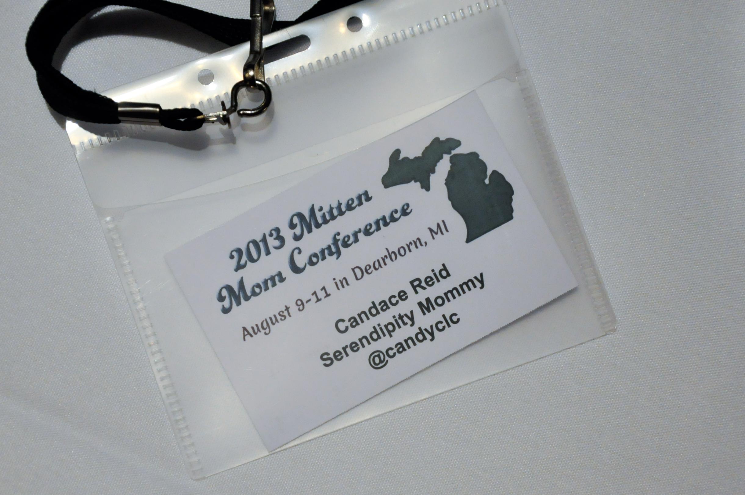 Mitten Moms Conference 2013 Recap