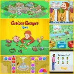 Curious George's Town iPhone App Review and a Giveaway!