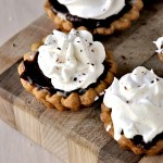 Chocolate Cheesecake Cookie Tarts
