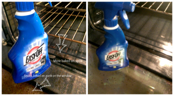 Don't Fear The Cleanup : EASY-OFF® Fume Free Oven Cleaner #easyoff