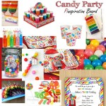 Birthday Party Planning: Candy Theme