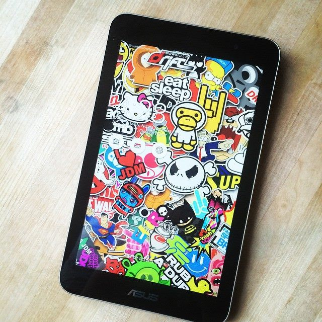 Asus Memo Pad 7 and My Busy Life