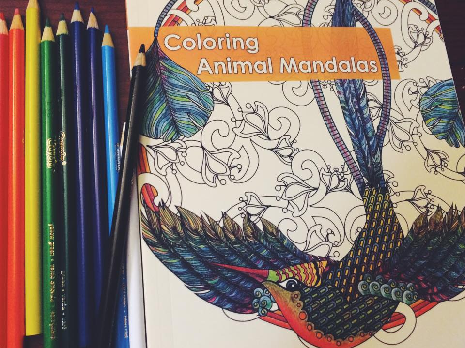 Coloring Animal Mandalas: My Zen Moment