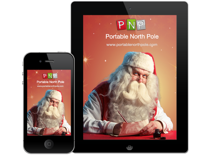 Portable North Pole – Personalized Video from Santa!
