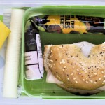 School Lunch Idea : Bagel Sammy