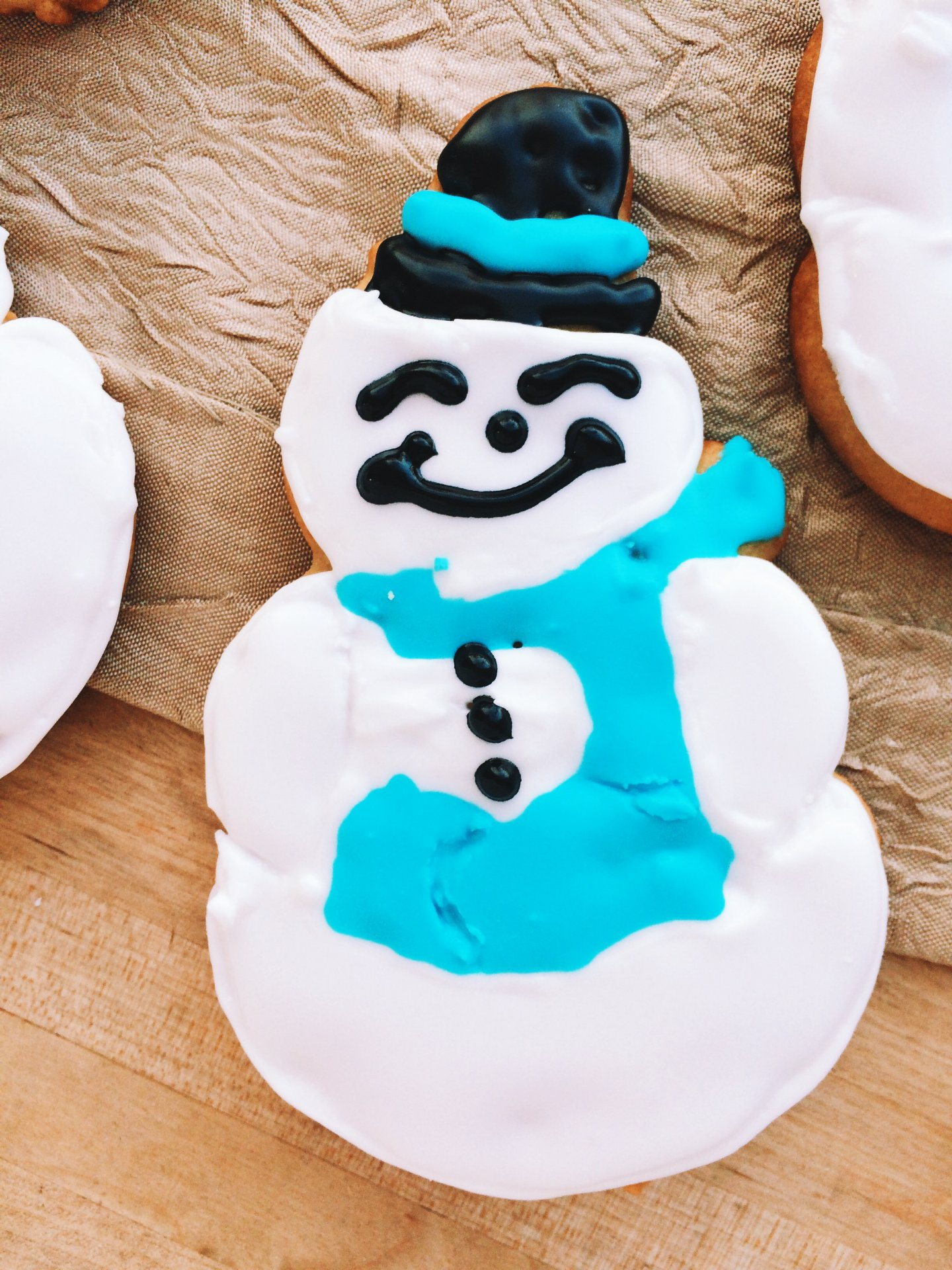 Snowmageddon 2015 Snowman Cookies with Gramma's Cutters {Giveaway}