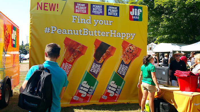 I Got #PeanutButterHappy with the Jif® Mobile Experience!