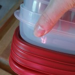 No More Lost Lids! Rubbermaid Containers with Easy Find Lids