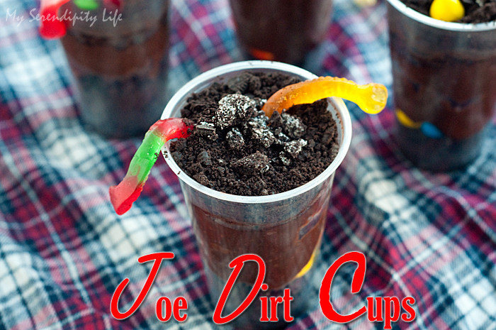 Joe Dirt Cups Recipe