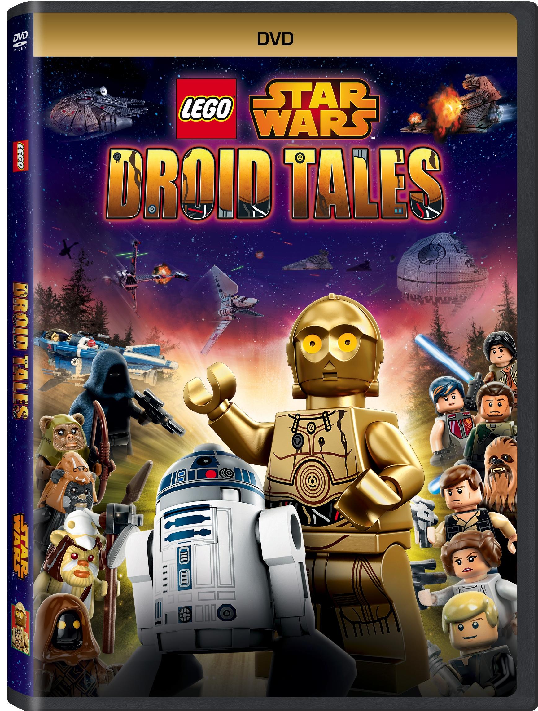 Lego Star Wars Droid Tales DVD
