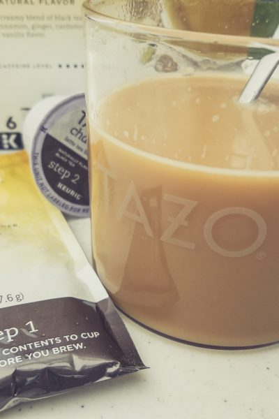 When Sweet Meets Spicy; TAZO® Chai Latte K-Cup® Pods