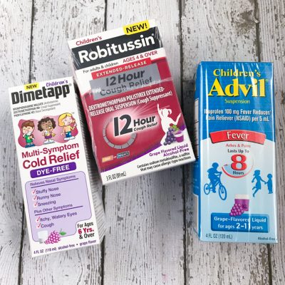 My Arsenal of Medicine For When My Kids Are Sick