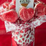 DIY Valentines Day Cookie Bouquet