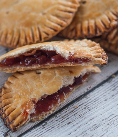Apple-Cinnamon Lingonberry Hand Pies and a Giveaway!