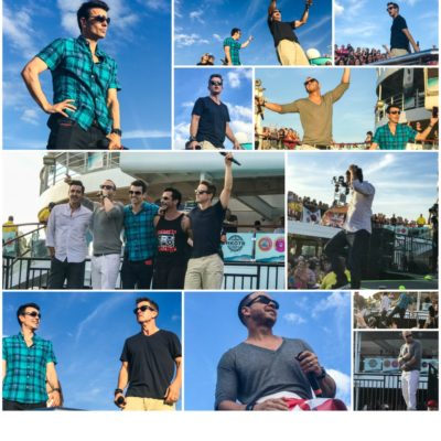 NKOTB Cruise 2017 Recap Part 2 – Sailing Away and Missing The Ball